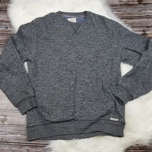 Original Weatherproof Vintage Grey Crew Pullover